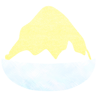 Shaved ice (lemon)