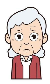 Grandma (worried)
