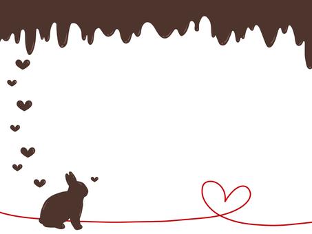 Valentine's rabbit