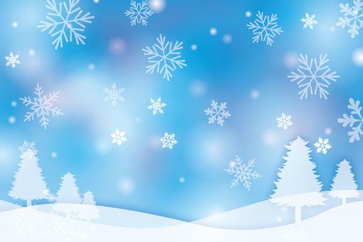 Winter Background 006-2