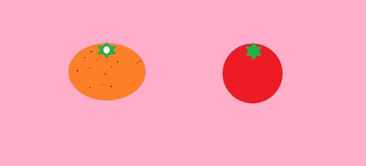 감귤과 토마토