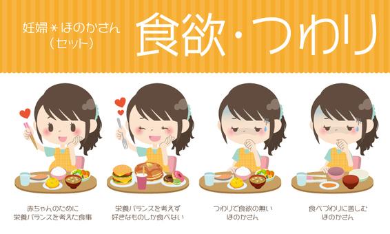 Pregnant women * Appetite · sickness 【set】