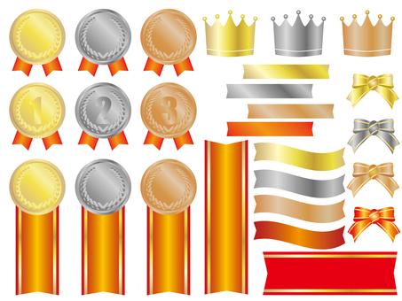 獎牌和冠帶CS