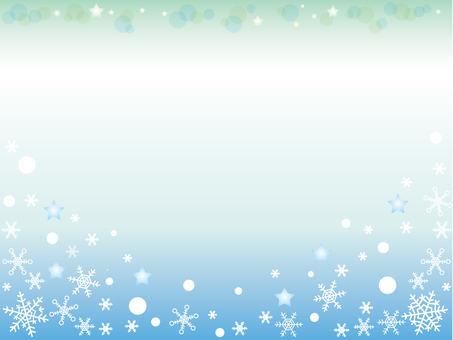 Snow crystal _ winter background