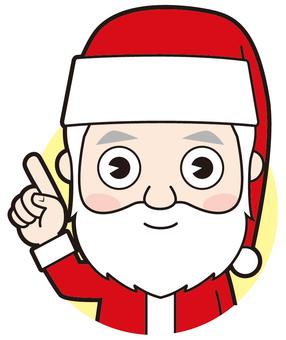 指著聖誕老人(普通)