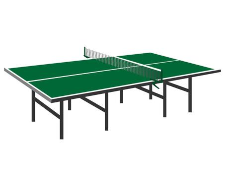 Table tennis table Retro Ver.