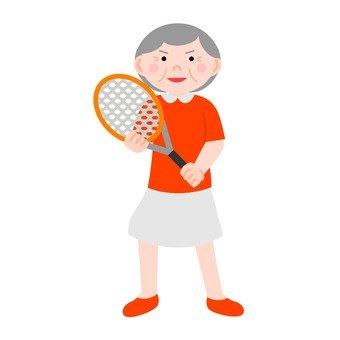 Tennis senior women