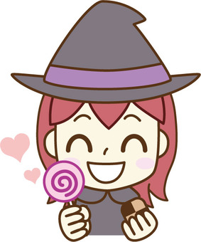 Witch to get sweets