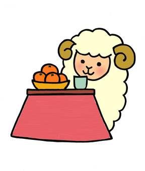 Kotatsu Sheep