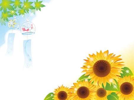 Wind bell _ sunflower