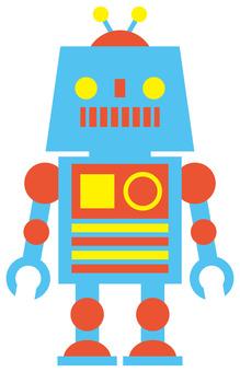 Robot / Blue
