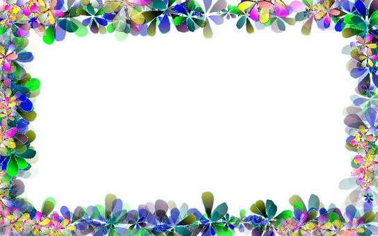 꽃 프레임 5
