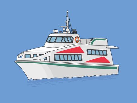 Small passenger boat 3