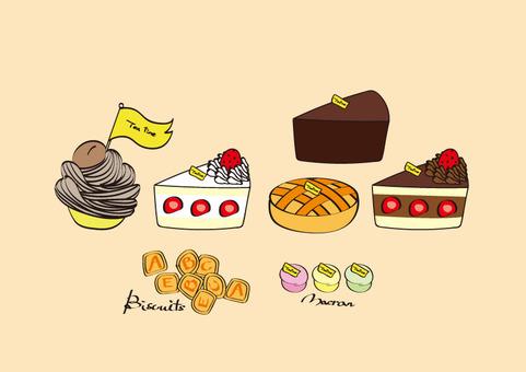 蛋糕小吃時間