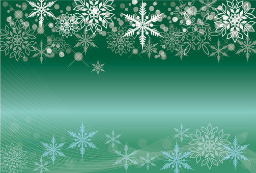 Snow frame background