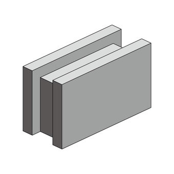 Concrete Block (Horizontal)