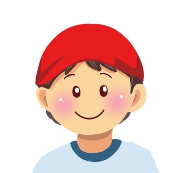 Red pair boy