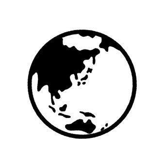 지구 선화 흑백
