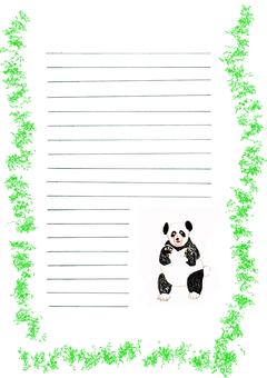 Panda image paper paper 6