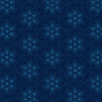 Starry sky pattern