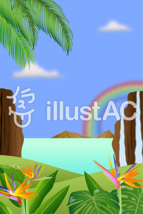 風景Bのイラスト