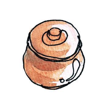 Pickled in a pot