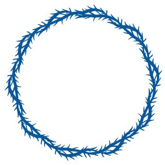 Thorns wheel (blue)
