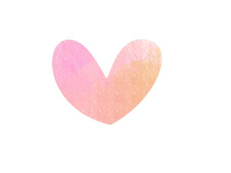 Watercolor Heart ver 01