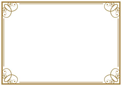 Elegant frame 002