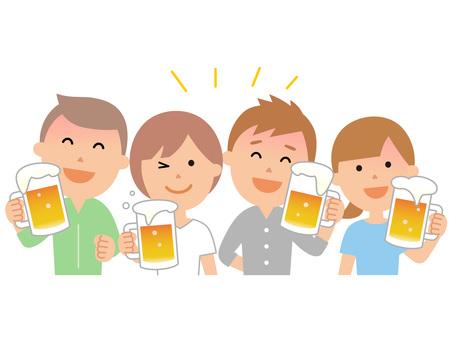 90608. 맥주 건배 2