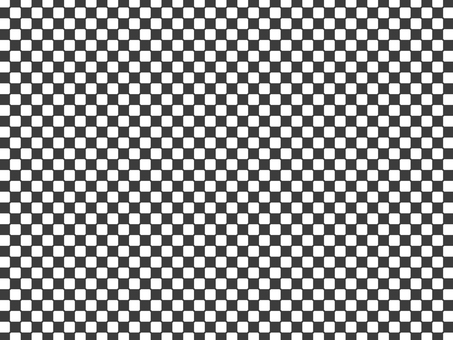 Checkered pattern-black and white- wallpaper material
