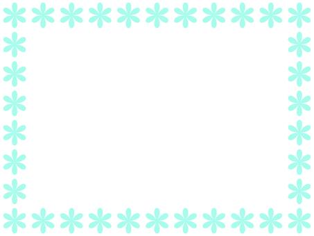 Flower frame 2 (green)