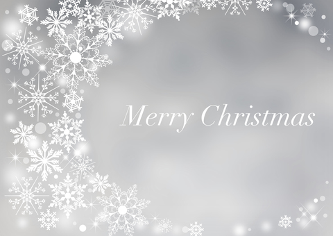 Christmas _ silver background