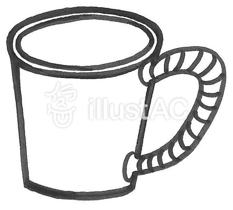 マグカップ 陶芸 陶器 茶わんイラスト No 441514無料イラストなら