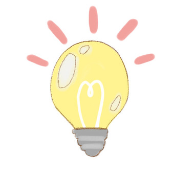 Light bulb mark