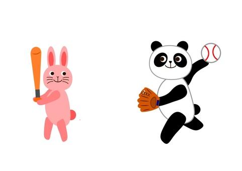 Baseball club Baseball animals