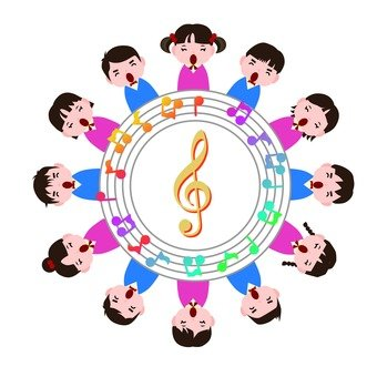 A circle of music