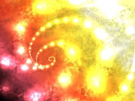 Sparkling background (warm color)