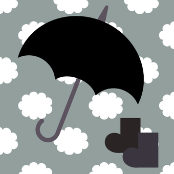 Umbrella (cloudy sky)