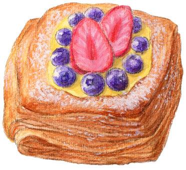 빵 ☆ 과일 데니쉬