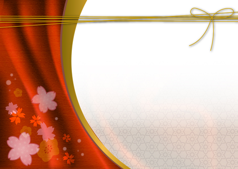 Japanese style background material 13