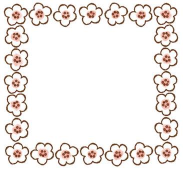 Floret Frame Pink