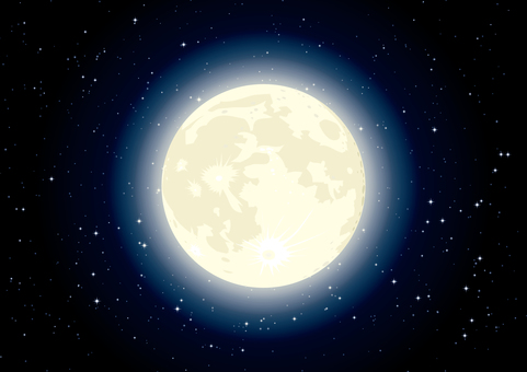 Moon universe sky wallpaper