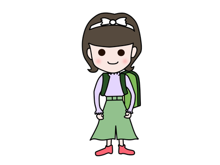 4th grade girl
