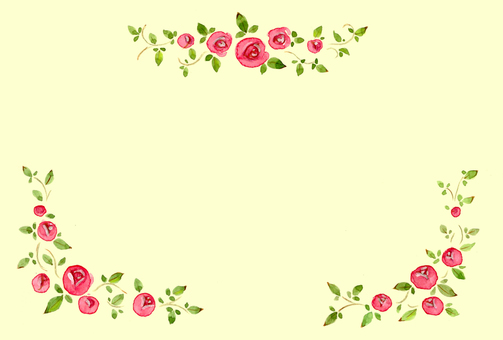 薔薇ポストカード02 背景あり