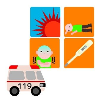 Symptoms of heat stroke 2