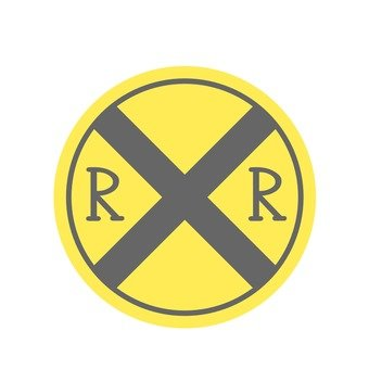 Sign (railroad crossing)