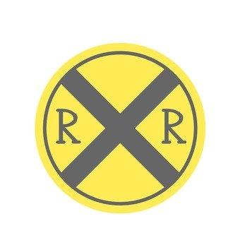 Sign (railroad crossing)