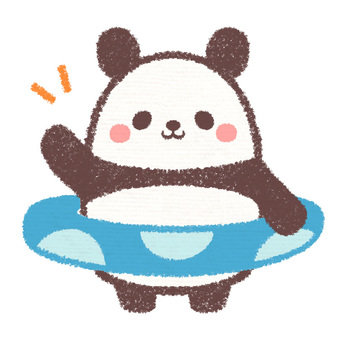 Floating ring panda