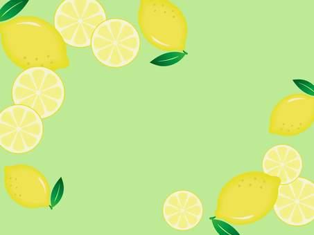 레몬 프레임